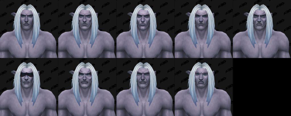 Battle for Azeroth 8.1 yaması ile gelecek olan kozmetik seçenekleri Elune'un karanlık yüzünü iyi yakalıyor