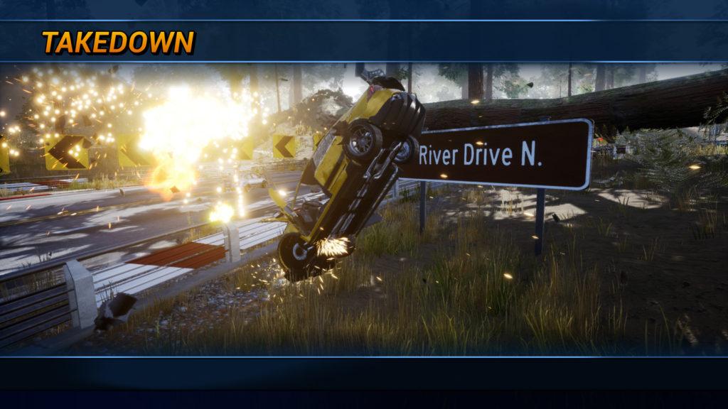 Diğer yarışçıları oyundan çıkarmak size zaman kazandırıyor - Dangerous Driving