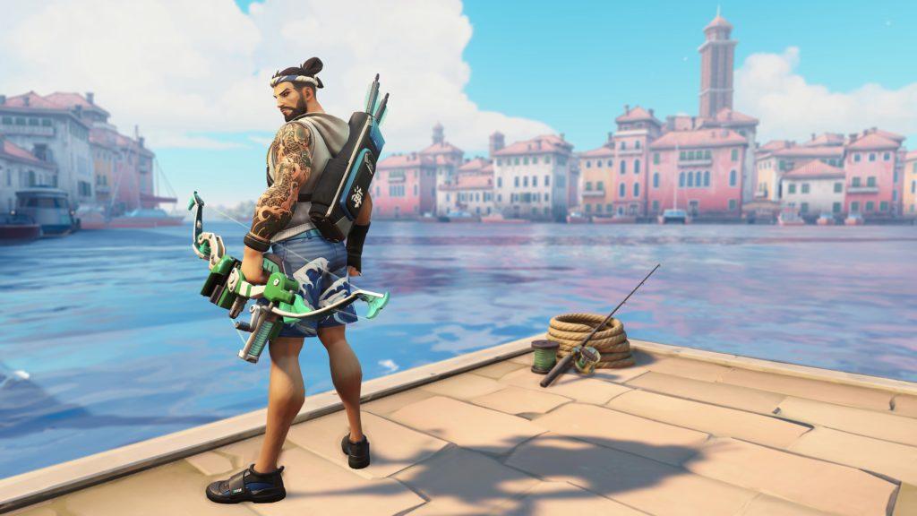 Overwatch 2019 Summer Games Hanzo kostümü