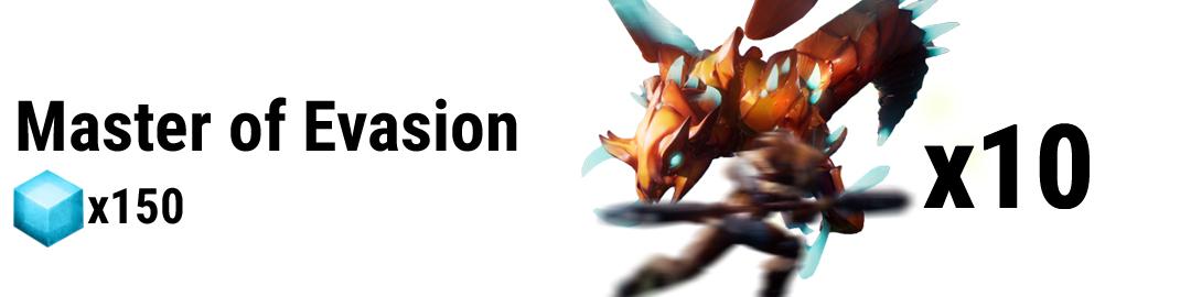 Master of Evasion – Dauntless High Skies