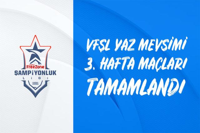 VFŞL Vodafone FreeZone Şampiyonluk Ligi